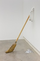Greenshaw_MILF, broom, socks, marbles, milk, 2017LoRES.jpg
